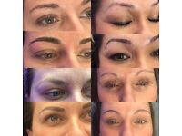 Microblading, hair stroke eyebrows 🎀🎀🎀3 D effect semi permanent make up