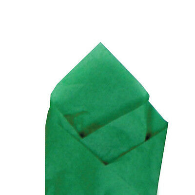 24 Sheets Pack 20 X 30 Kelly Green Quality Premium Grade Color Tissue Paper