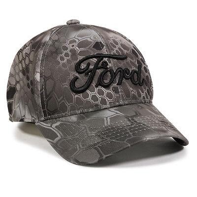 FORD Kryptek® Raid™ Hat Structured Low Crown Moisture Wicking Polyester (Crown Hats)