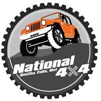 "2.5"" Jeep TJ/XJ Coil Spacers"