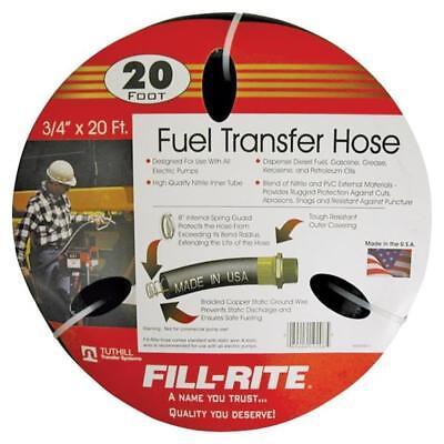 New Tuthill Fill Rite Frh07520 Fuel Transfer Pump Tank Hose 20 X 34 1054766