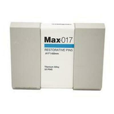 Coltene Whaledent M-13 Max Restorative Titanium Alloy Pins Kit .017 Blue 50bx