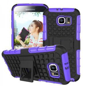 Funda-Protectora-Carcasa-Accesorios-Purpura-Para-Samsung-Galaxy-S6-G920-G920F