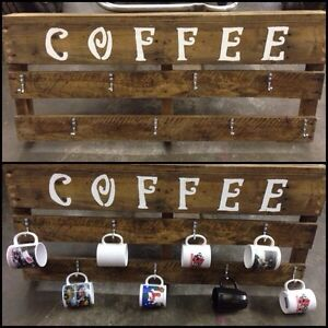 Coffee mug holder!