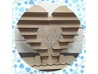 Ferrero Rocher heart