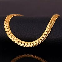"""Brand new never worn - 18K Gold Plated 22"""" gold chain."""