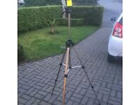 Tripod ideal for cameras or Surveying equipment