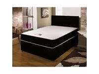 ❋❋ LOWEST PRICES ❋❋ BRAND NEW ❋❋ DOUBLE DIVAN BED BASE & MATTRESS OF YOUR OWN CHOICE