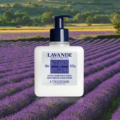 Loccitane Lavender Hand Lotion - L'Occitane Lavender Moisturizing Hand Lotion - 300ml