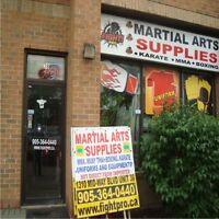 SAVE UPTO 75% ON MARTIAL ARTS, BOXING, JUDO, MMA SUPPLIES