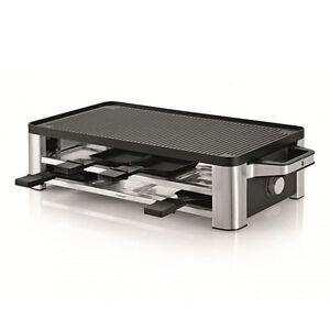 WMF Lono Raclette Grill Cromargan matt 1500 Watt Leistung