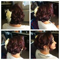 On location Hairstylist (special occasions)