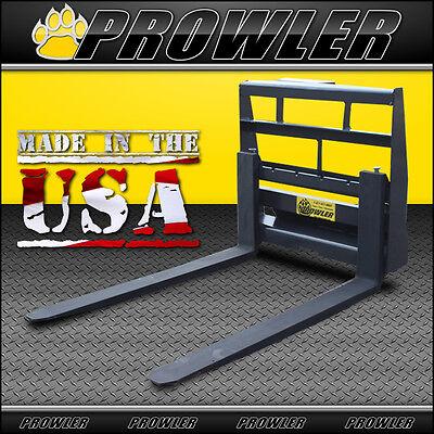 Prowler 42 Inch Heavy Duty Mini Skid Steer Pallet Forks - 2800 Lbs Capacity