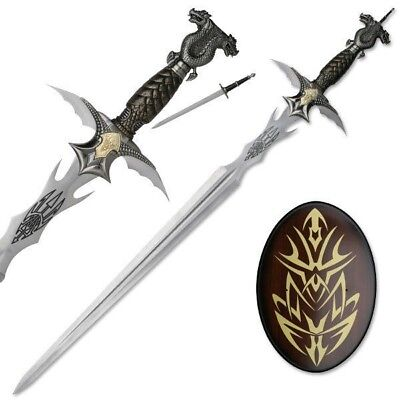 Dragon Sword with Wall Plaque and Hidden (Dragon Wall Swords)
