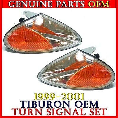 NEW OEM 1999-2001 TIBURON TURN SIGNAL LAMP LIGHT SET 92301-27550 / 92302-27550