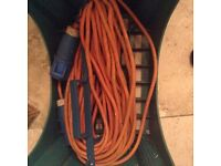Lead for electrical hook up
