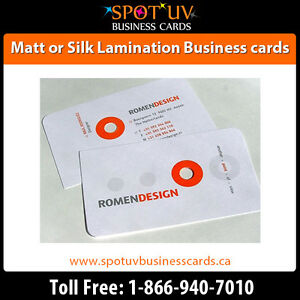 Best Deals On 250 Matte Business Cards $195.00 - Fast Shipping London Ontario image 5