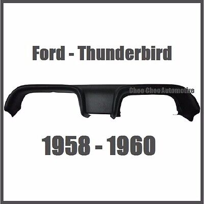 Ford Thunderbird Molded Dash Cap Cover Overlay Replacement 1958 1959 1960 T BIRD