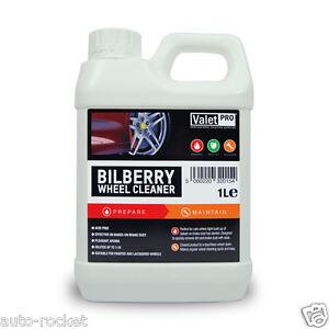 Valet PRO Bilberry Wheel Cleaner 1 Litre Safe for Alloys & Acid Free AUTO-ROCKET