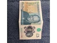 AK04 £5 note