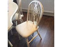 Job Lot of 20 SHABBY CHIC Wooden chairs