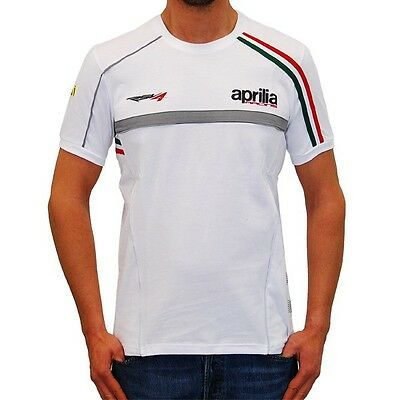 Aprilia Racing Team T-Shirt - New X -Display, Medium - Official Factory Apparel
