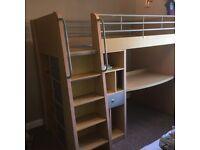 Dream's high sleeper cabin bed