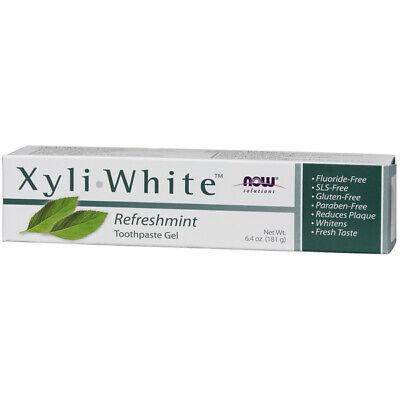 Now Foods Xyliwhite Zahnpasta Gel (Zahnpasta Gel. Xyliwhite Erfrischung, 6.4oz (181g) - Now Foods)