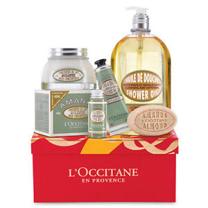 BNIB L'Occitane en Provence Almond Collection Gift Set