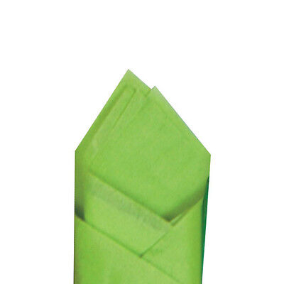 24 Sheets Pack 20 X 30 Citrus Green Quality Premium Grade Color Tissue Paper