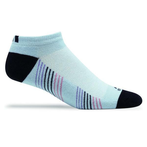 Adidas Womens Tour Performance Low Cut Socks 6-10 Blue FAST SHIP! AE9