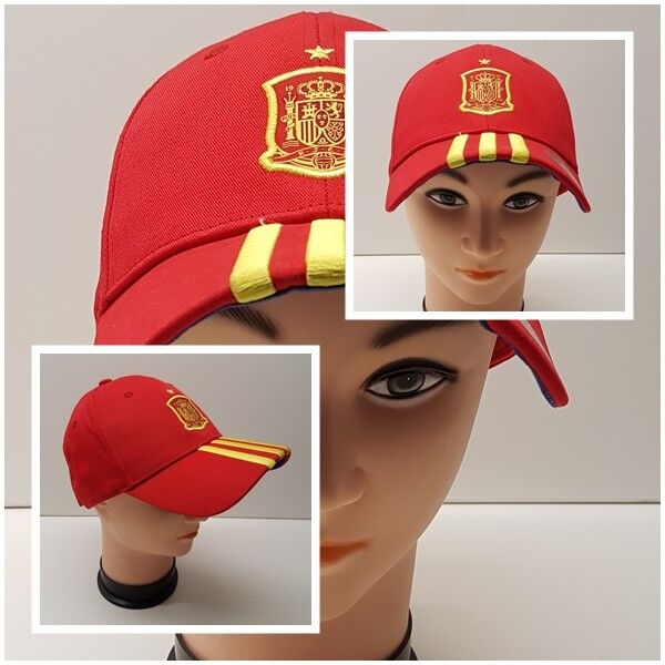 adidas Spanien Cap Schirmmütze Hut Had Mütze Espana Spain Spanien FEF 3 S WM EM