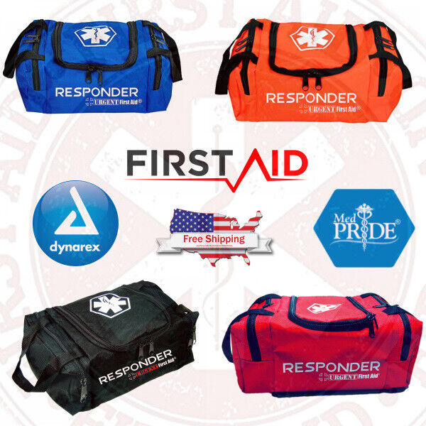 NEW FIRST AID FIRST RESPONDER TRAUMA KIT OUTDOOR FAMILY SURVIVAL MEDICAL TRAVEL BAG