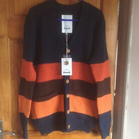 Quality handmade wool knit cardigan brand-new, available in size M & L quick sale at £35 each
