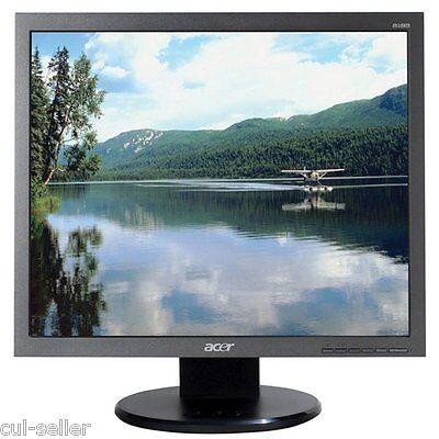 Acer B193 48 cm (19) 5:4 LCD TFT Monitor Business Serie - Schwarz DVI