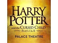 Harry Potter and the Cursed Child Part 1 & Part 2 December 15th and 16th Thursday & Friday