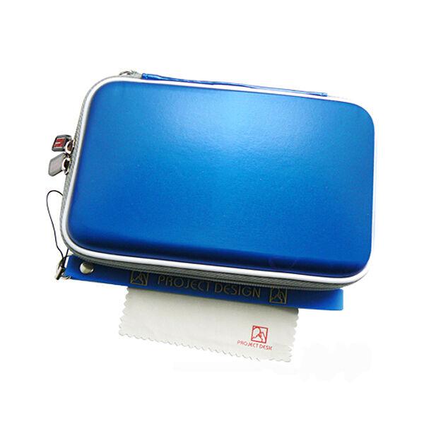Airform® Nintendo 3DS XL Tasche, Hard Case, Hülle für Konsole & Spiele royalblau