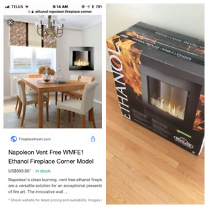 Napoleon Ethanol Fireplace