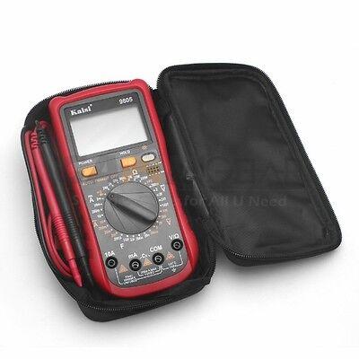 Digital Lcd Multimeter Nt-9805 Voltmeter Ammeter Ohmmeter Ohm Volt Tester Us