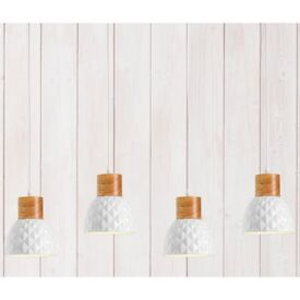 White Geometric Light Fittings