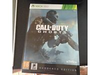 Call of duty ghosts Xbox 360 hardened copy