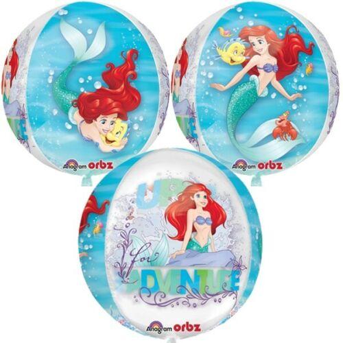 Ariel+Dream+Big+Clear+Orbz+16in+Mermaind++Princess+Disney+Foil+Balloon+Amscan+