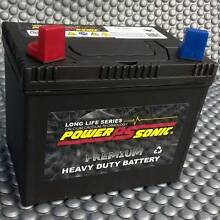 NEW Ride-on Mower battery.  PowerSonic SMF batteries for rideon Jacobs Well Gold Coast North Preview