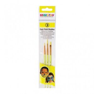 Snazaroo Min Starter Face Paint Kit also 25 Colours of Face Paints Brushes