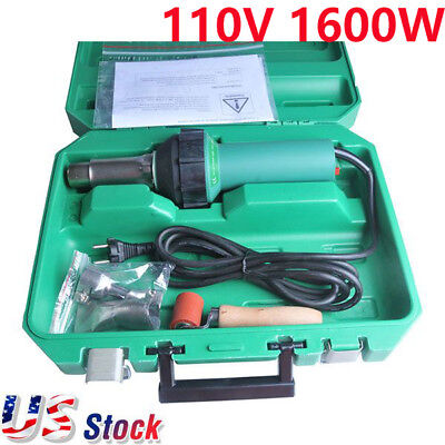 Us Stock - 110v 1600w Affordable Easy Grip Hand Held Plastic Hot Air Welding Gun
