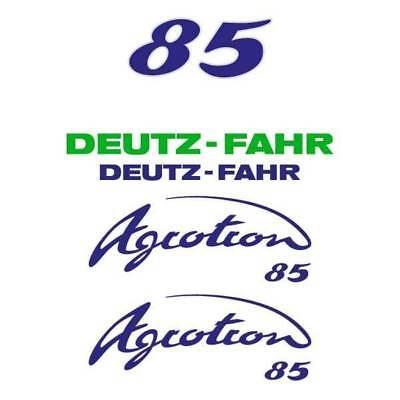 Deutz-fahr Agrotron 85 Tractor Decal Aufkleber Sticker Set