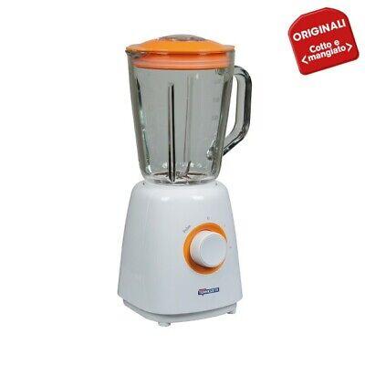 Frullatore Termozeta Linea Cotto & Mangiato, Bicchiere in vetro da 1 Litro