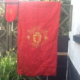 Childrens Manchester United Sleeping bag