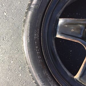 Michelin pilot alpine PA3 winter snow tires London Ontario image 2
