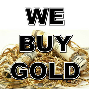 Wanted: CASH for 4 GOLD - OR SCRAP A VENDRE - SCRAP GOLD      Su